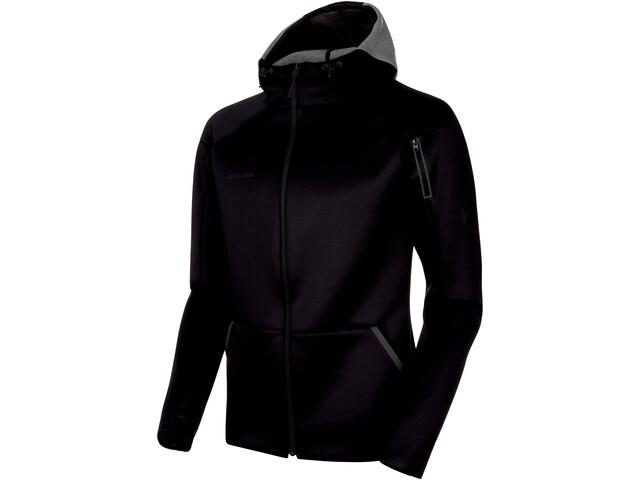 Mammut Logo ML Hooded Jacket Men black melange